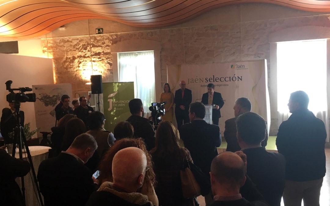 "Diputación anuncia los aceites ""Jaén Selección"" para 2020"