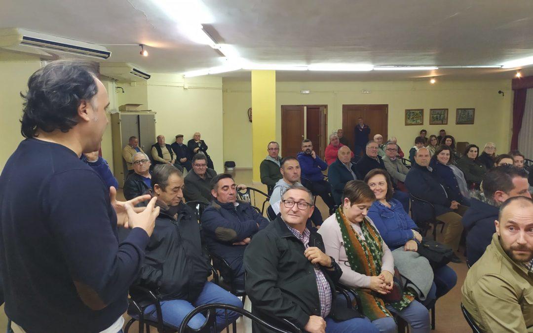Respaldo del PSOE a Javier Chica para que suceda a Paqui Medina en la Alcaldía