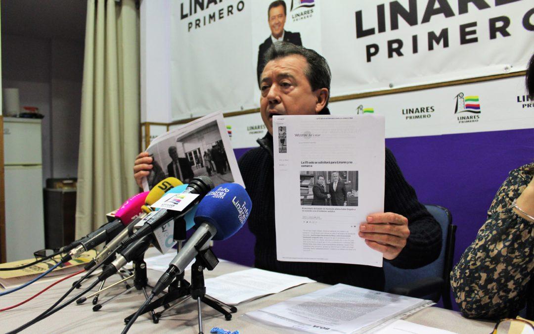 """Juan Fernández: """"La ITI provincial es otra traición a Linares"""""""