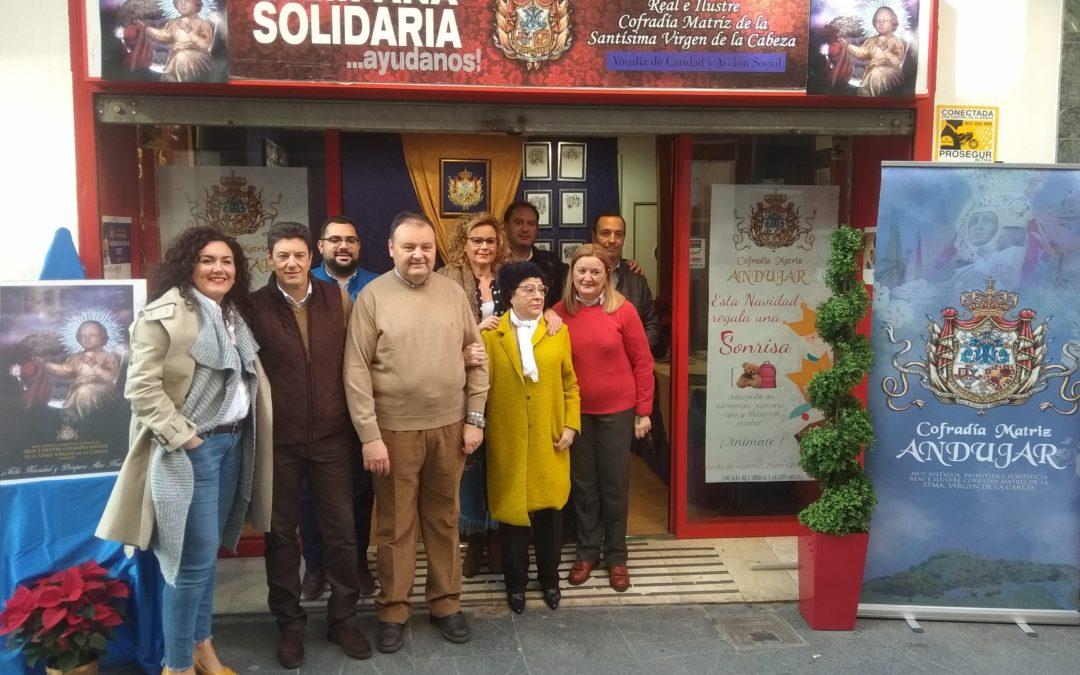 Inaugurado el Local de Caridad de la Cofradía Matriz para la campaña de Navidad