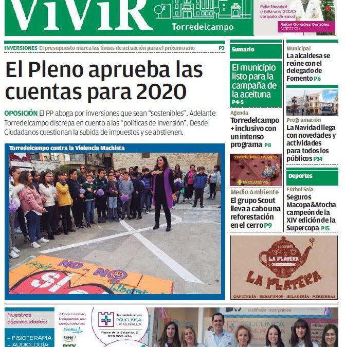 HEMEROTECA | Ya puedes consultar el numero de diciembre de VIVIR Torredelcampo