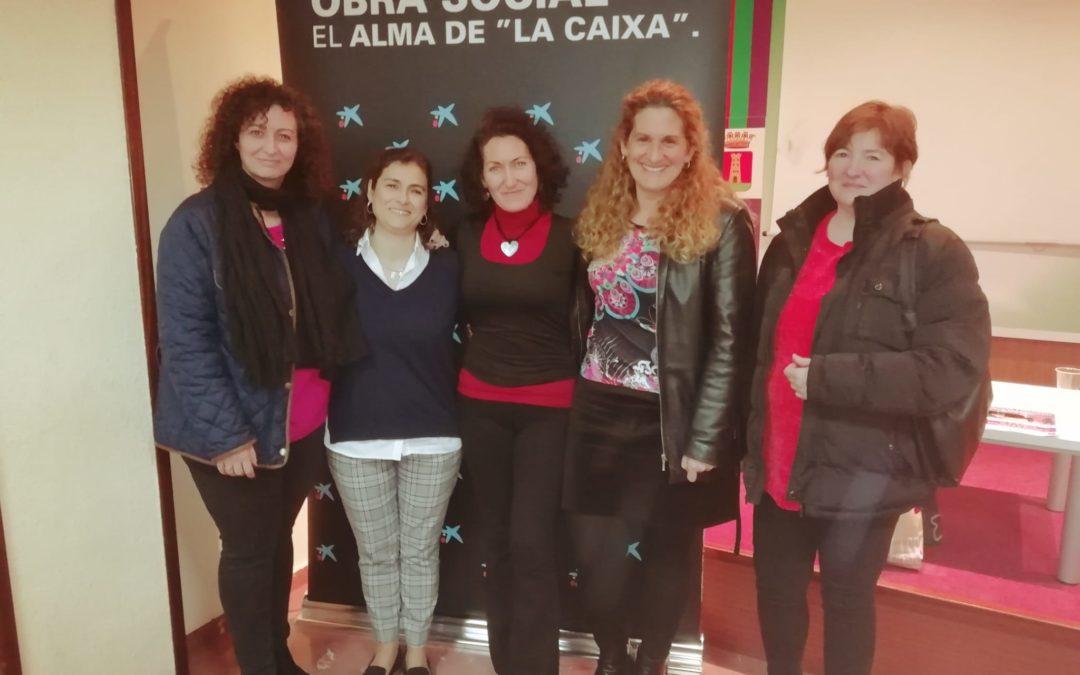 Éxito de participación en el taller de empoderamiento femenino impartido por Luz Navas