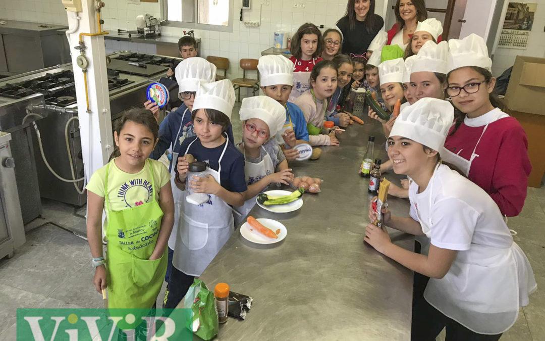 Taller para pequeños cocineros de Martos