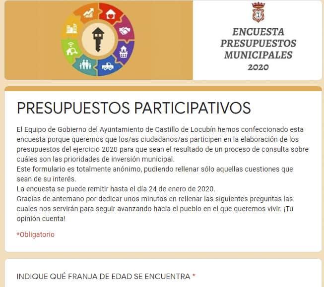Acogida vecinal a los presupuestos participativos