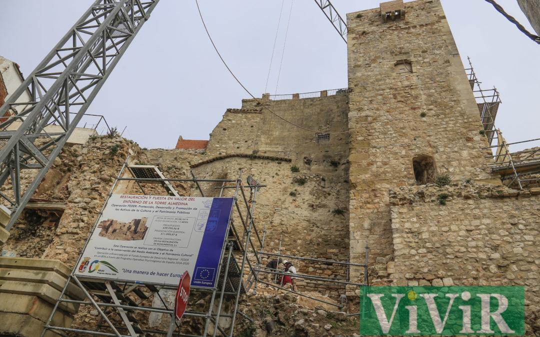 La Torre Almedina sigue desvelando la historia de Martos