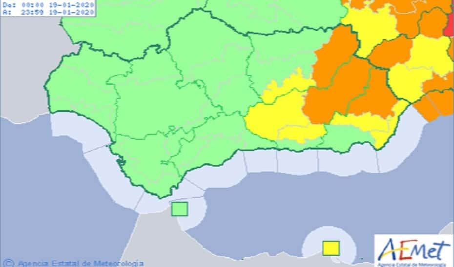 Activado para mañana el aviso naranja por nevadas en las provincias de Granada, Almería y Jaén