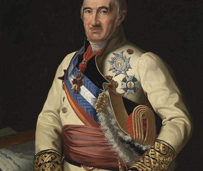 Villanueva de la Reina es conquistada a los franceses por el Marqués de Coupigny