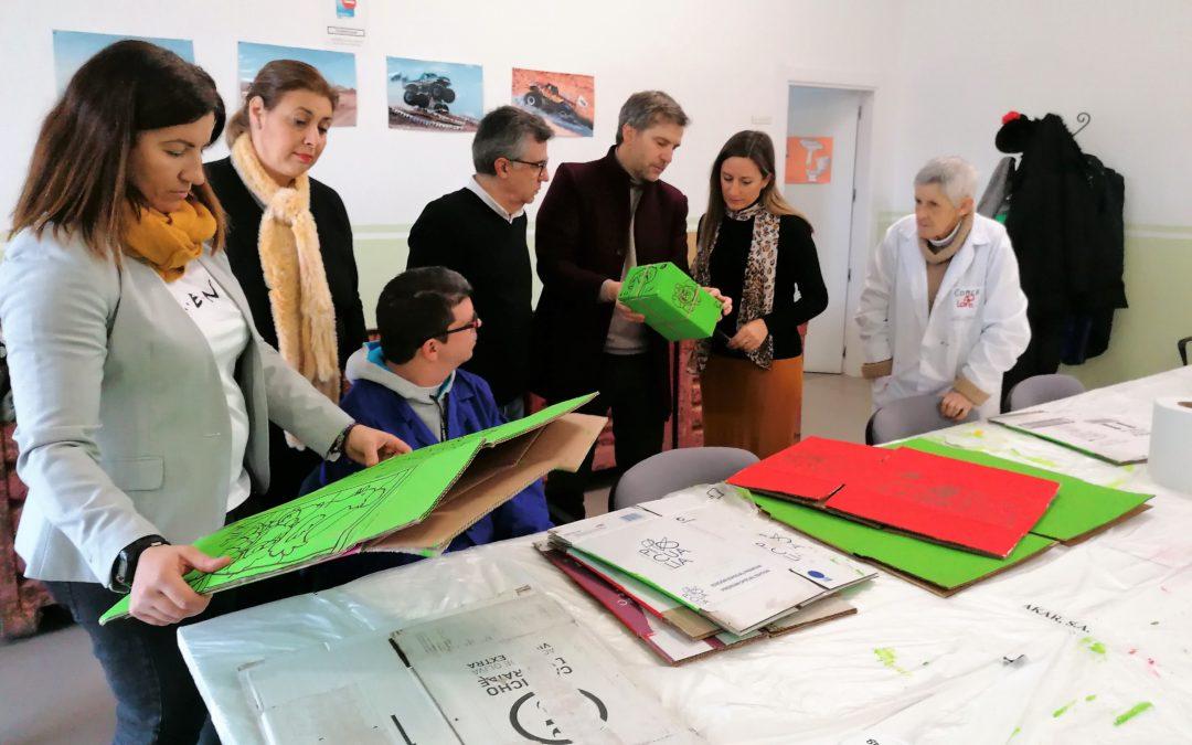 Los Andaluces diseña cien cajas para la empresa Elaia Zait IDD