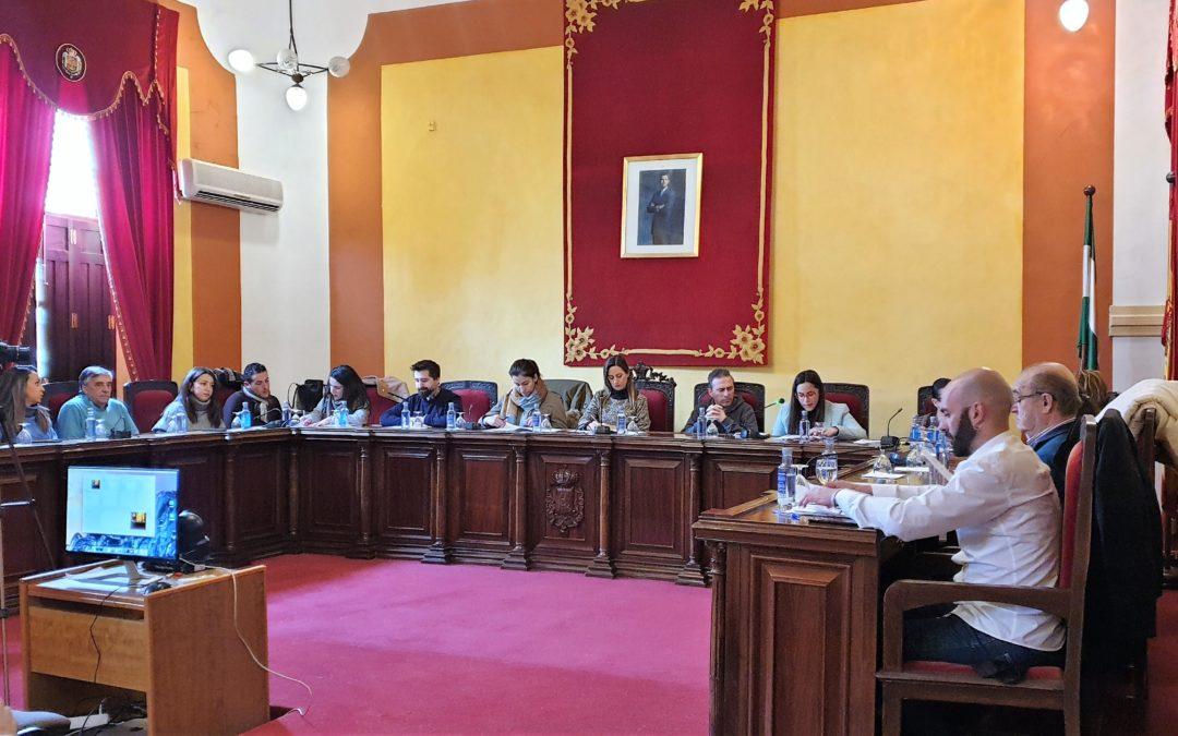 El pleno aprueba dos proyectos de arreglo de caminos rurales