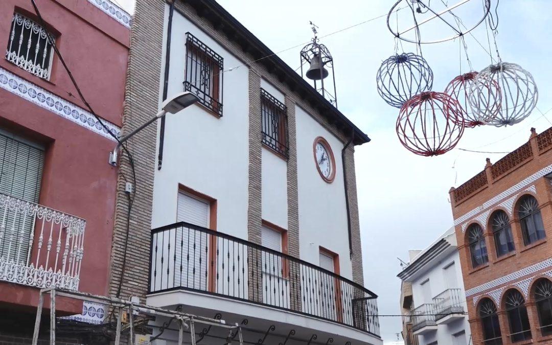 El Ayuntamiento de Jamilena volverá a la Plaza de la Constitución
