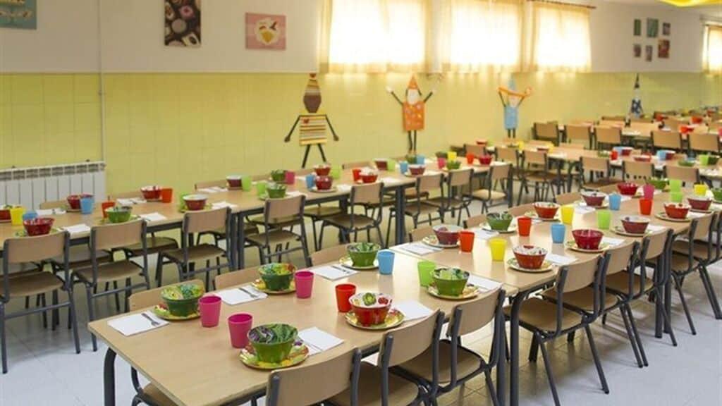 Los comedores escolares de Martos se restablecerán el 3 de febrero