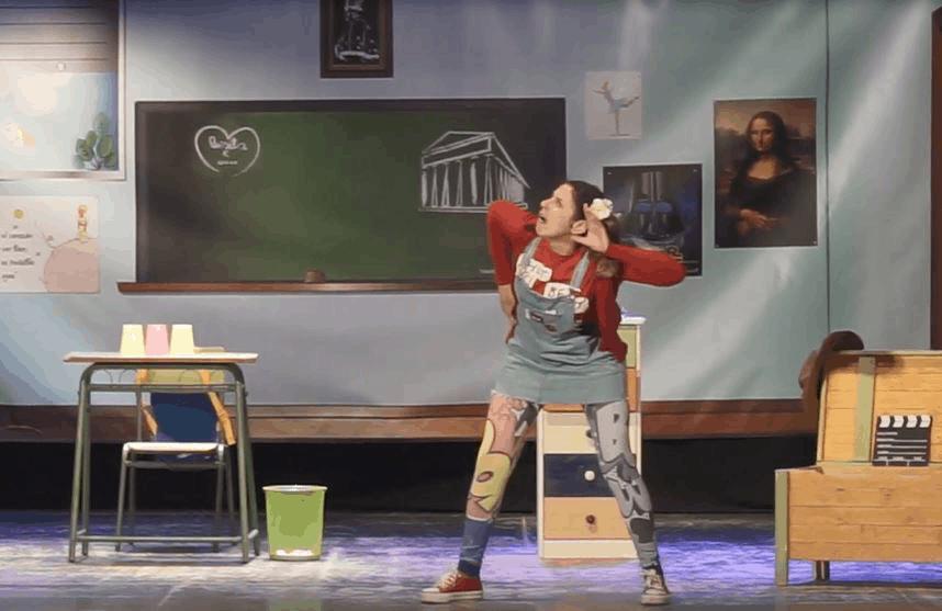 Teatro en Valores con tintes históricos para los alumnos de los colegios tosirianos