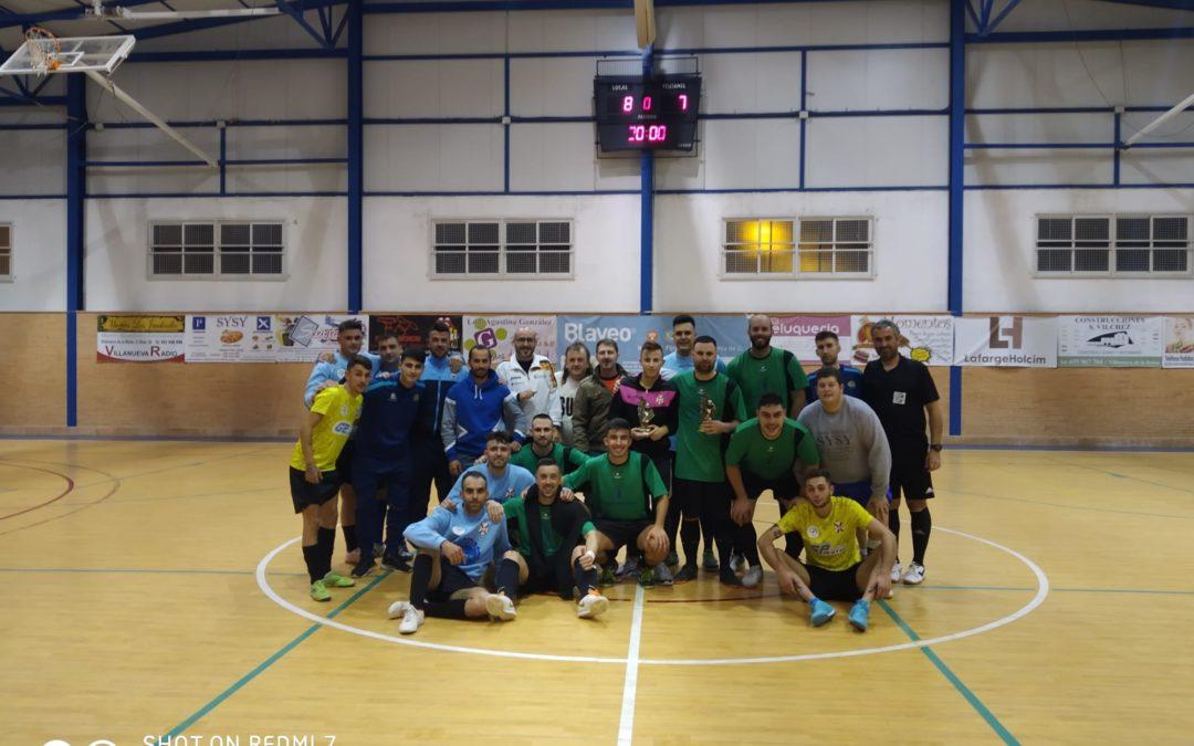 Jornada solidaria del Villanueva Fútbol Sala