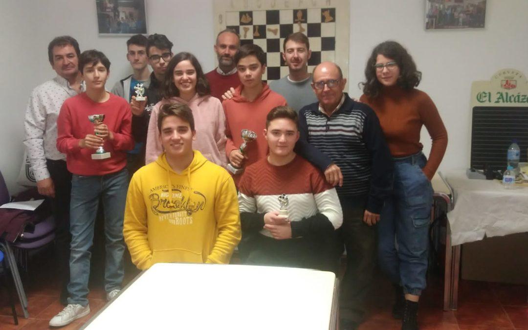 """El XVII Torneo de Ajedrez """"Manuel Ruíz"""" contó con 15 participantes"""