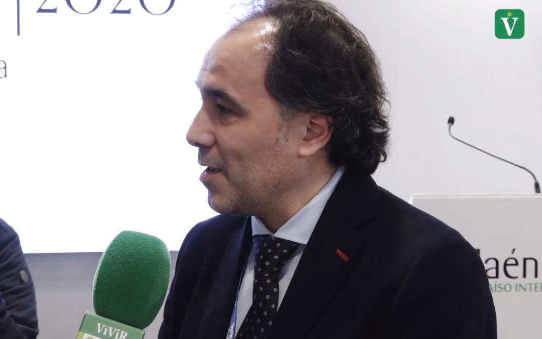 """Desde FITUR, Javier Chica asegura que va """"a estar en todas las movilizaciones del sector oleícola"""""""
