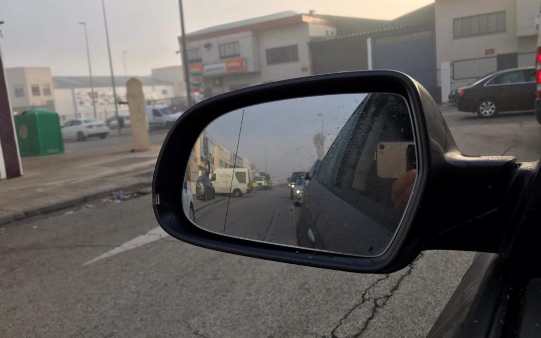 Atascos por la niebla y las obras en la Ronda de los Olivares
