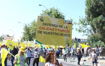 El Ayuntamiento de Andújar muestra su apoyo a las protestas de los agricultores