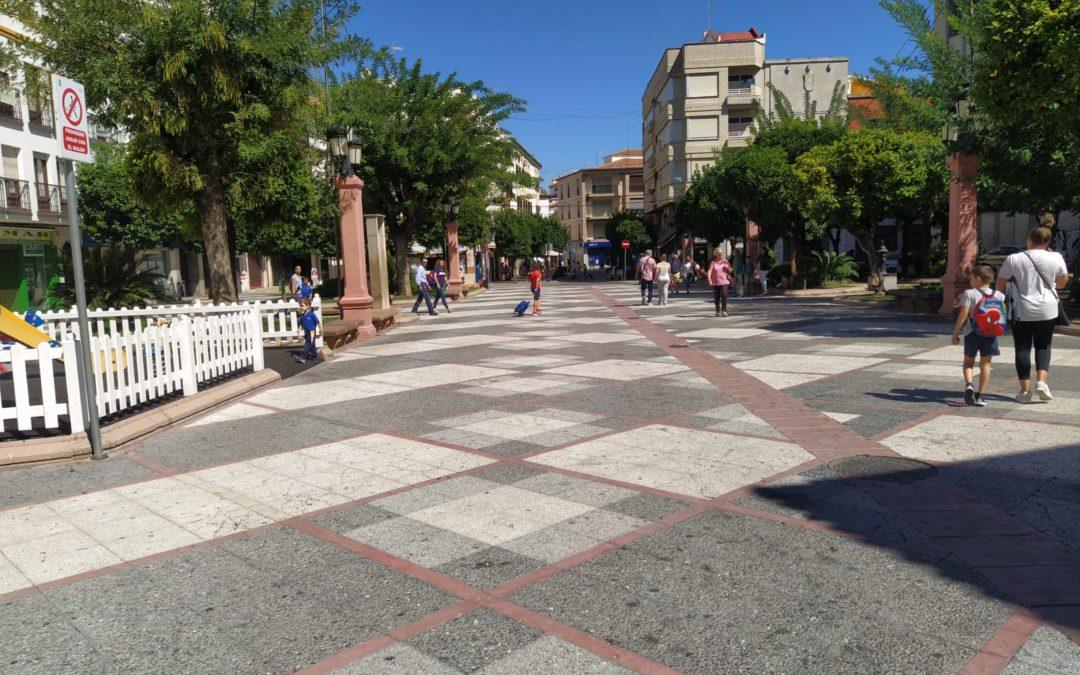 Nuevo puntos WiFI en plazas y parques de Andújar