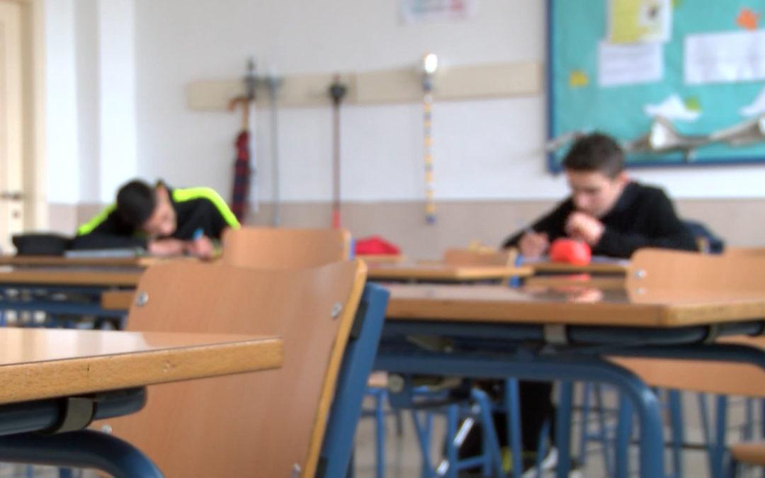 Aulas vacías por el frío en el Instituto Miguel Sánchez López de Torredelcampo