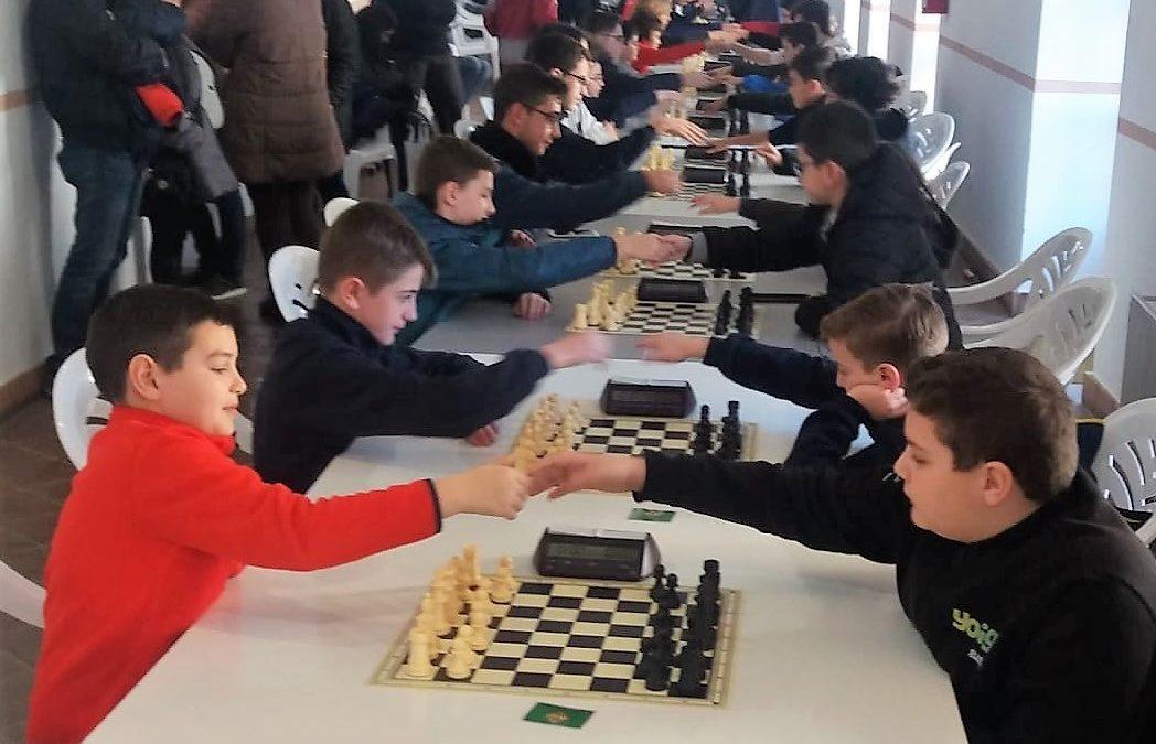 Cumbre del ajedrez jiennense en La Carolina