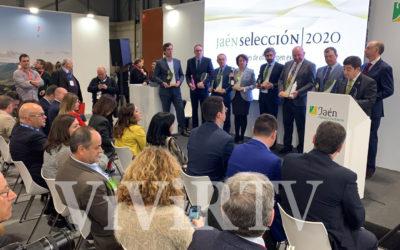 Acto de entrega de los reconocimientos a las empresas productoras de los AOVE Jaén Selección 2020