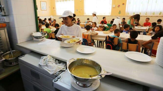 El comedor escolar del Colegio 'Padre Rejas' se restablecerá el 3 de febrero