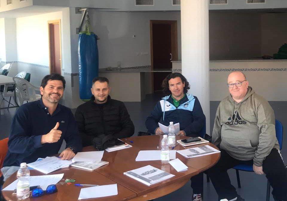 Torredelcampo acoge la reunión de Clubes Andaluces de Frontenis para establecer el calendario 2020