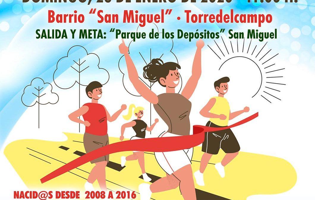 Tercera edición de la Carrera Urbana Infantil de San Antón con novedades en el recorrido