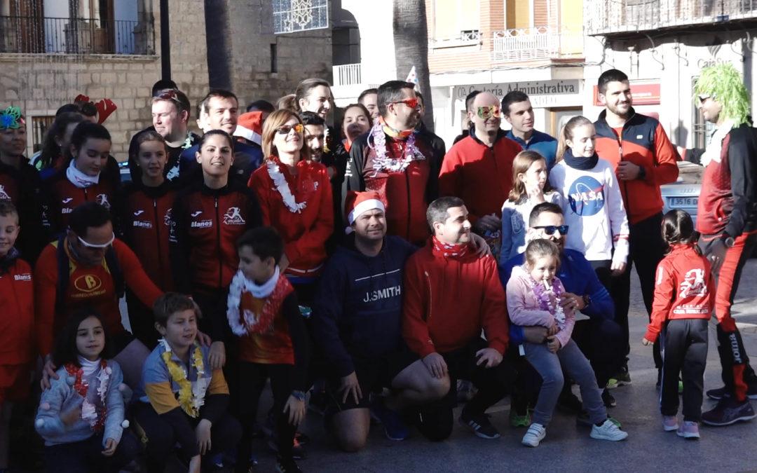 """Deporte y solidaridad en III Marcha Solidaria """"San Silvestre"""" Toxiriana"""