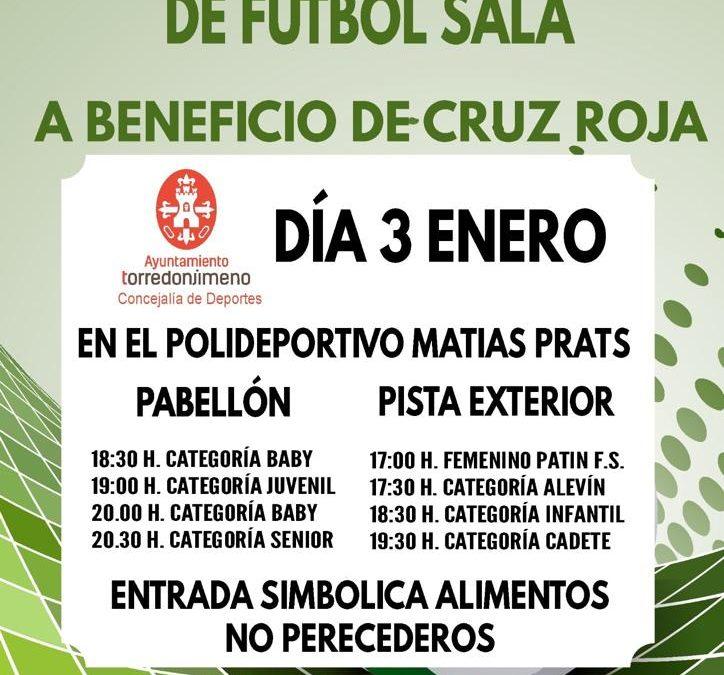 El Club Patín Bar y el Torredonjimeno jugarán a beneficio de Cruz Roja el Torneo de Reyes