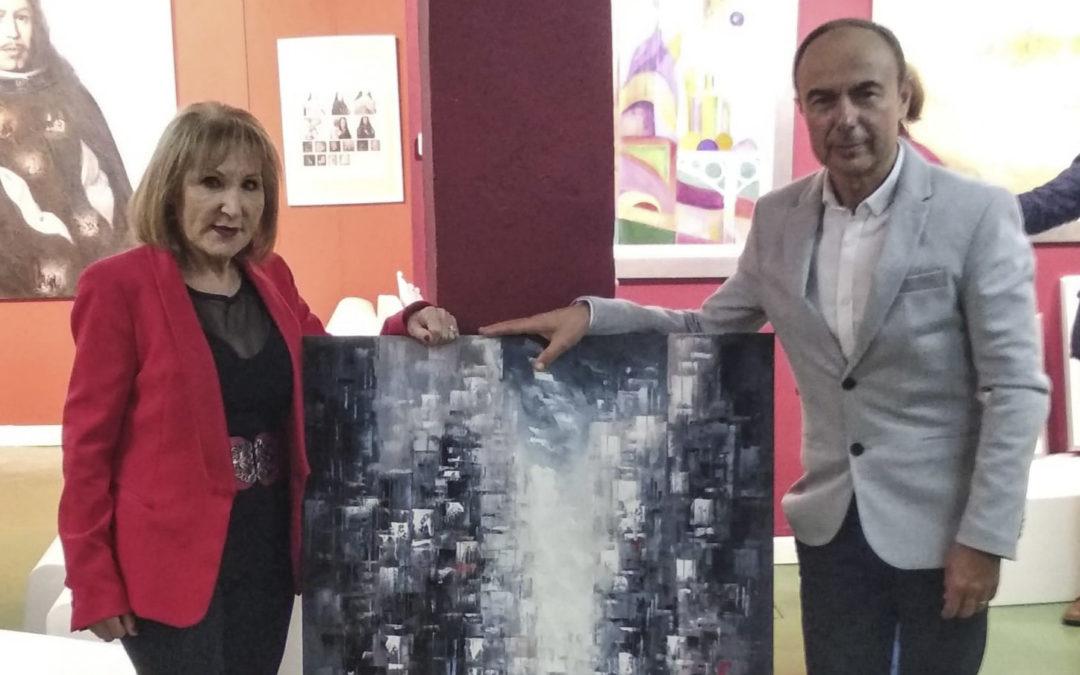 Roma se entrega a la calidad artística de Domínguez