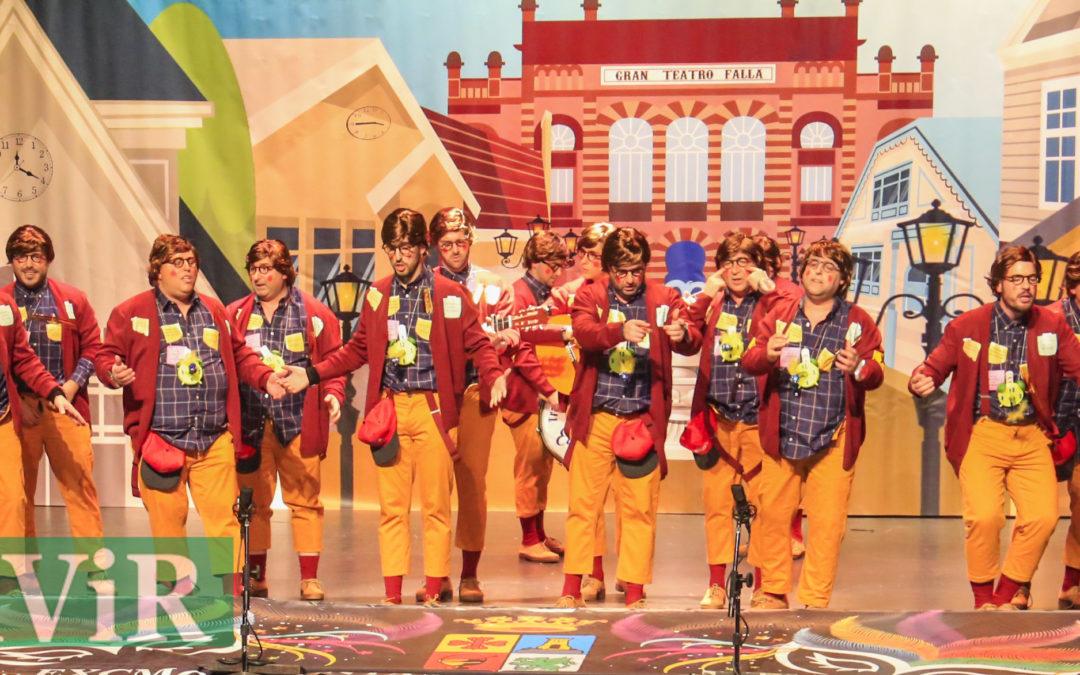 Las coplillas de carnaval llegan al Teatro Municipal de Alcaudete