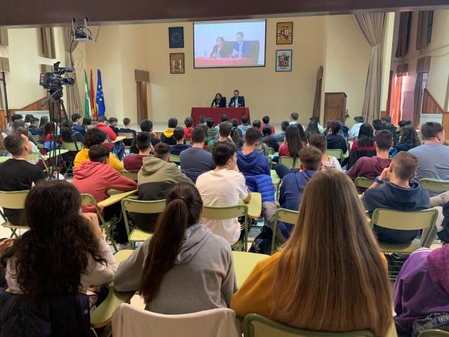 Charlas sobre el Estatuto Andaluz en centros educativos de Martos