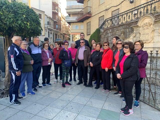 Los mayores de Martos visitan el centro histórico