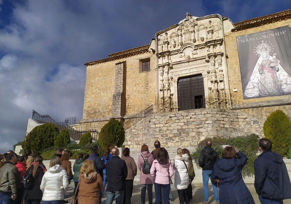 Crecen el número de visitas al castillo y centro histórico de Alcaudete