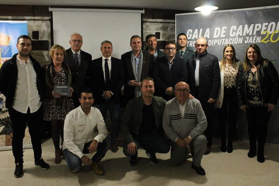 Reconocimiento por el I Crono Rally de Castillo de Locubín