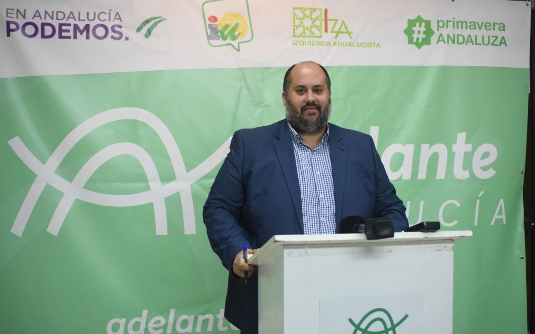 """Adelante Andújar muestra su satisfacción por unos presupuestos municipales """"sociales"""""""