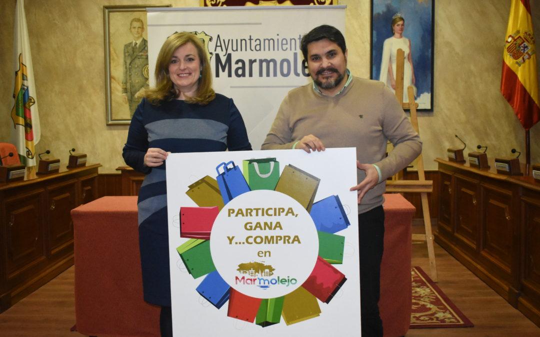 """""""Participa, gana y … compra"""" en Marmolejo, pionera iniciativa municipal para fomentar el consumo local"""