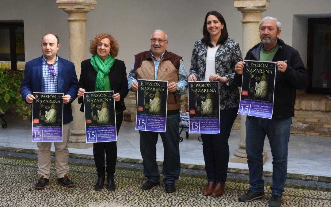 """El Teatro Principal acogerá el 15 de marzo la obra """"Pasión Nazarena"""""""