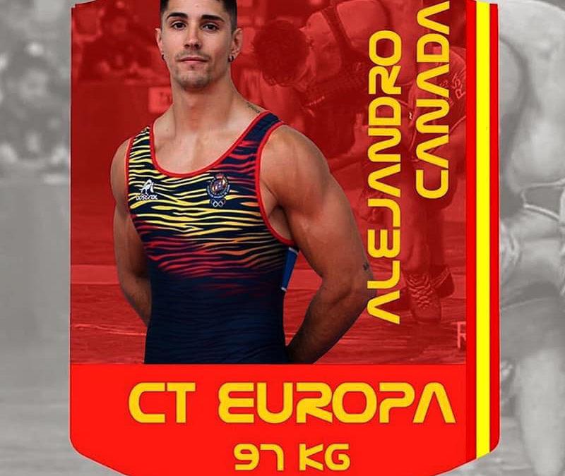 Cañada estará en el próximo Campeonato de Europa de Lucha