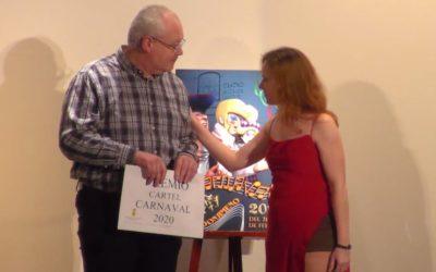 César Cámara y su inspiración para el cartel del carnaval 2020