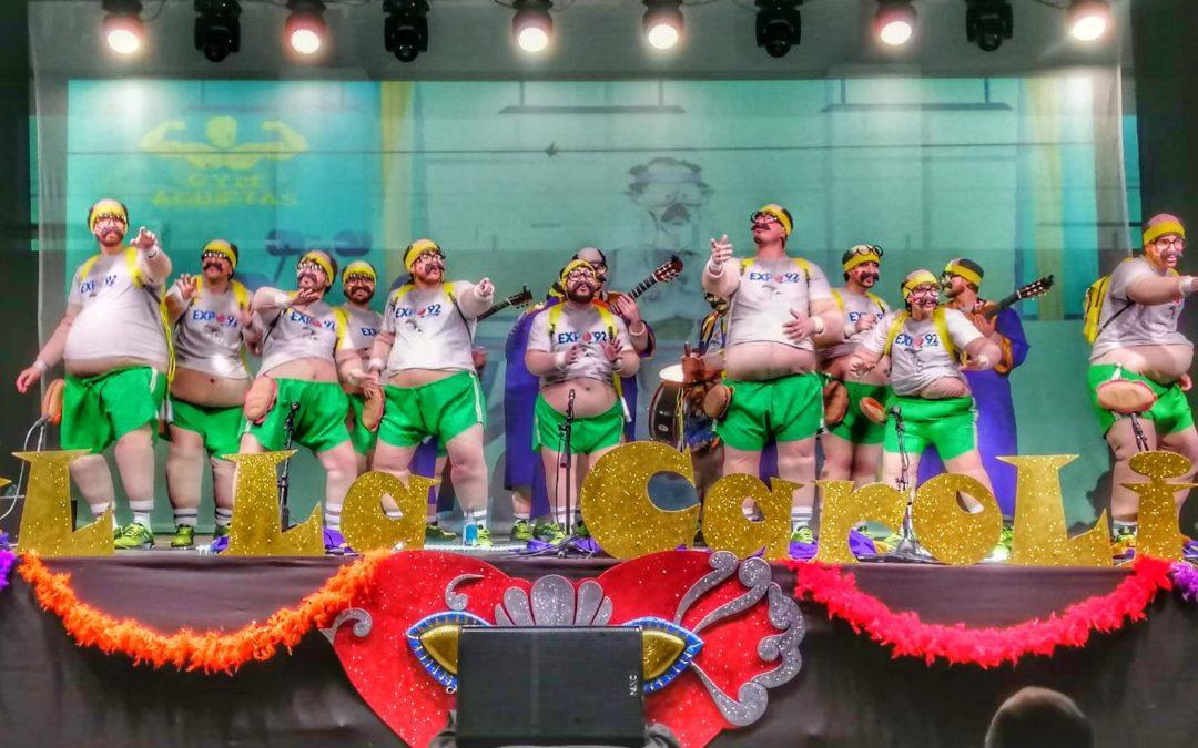 La chirigota de Arjona pasa a la final de los concursos de agrupaciones de Martos y La Carolina