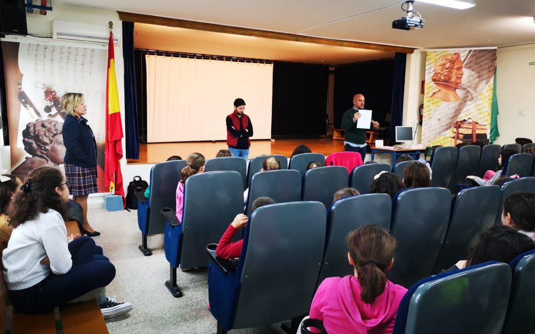 Los escolares de Arjona conocen el Álvarez Tendero