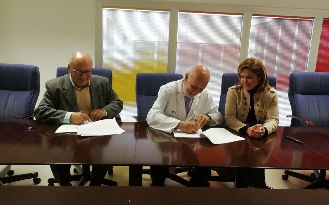 Acuerdo Hospital Universitario de Jaén y Cáritas para acompañar a enfermos por voluntarios.