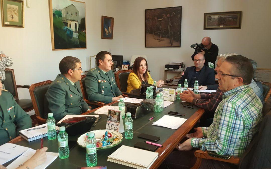 """""""Cumbre"""" para analizar los robos y detenciones en Torredonjimeno en los últimos meses"""