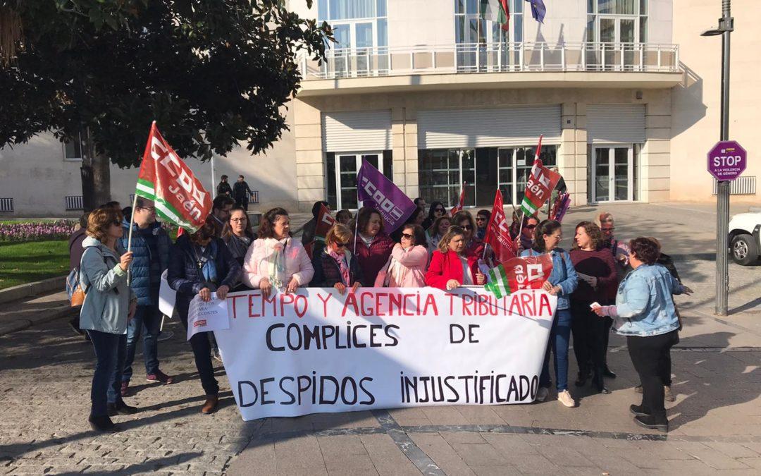 CCOO manifiesta que en Hacienda hay limpiando otra empresa que debería subrogar a las anteriores trabajadoras por ley