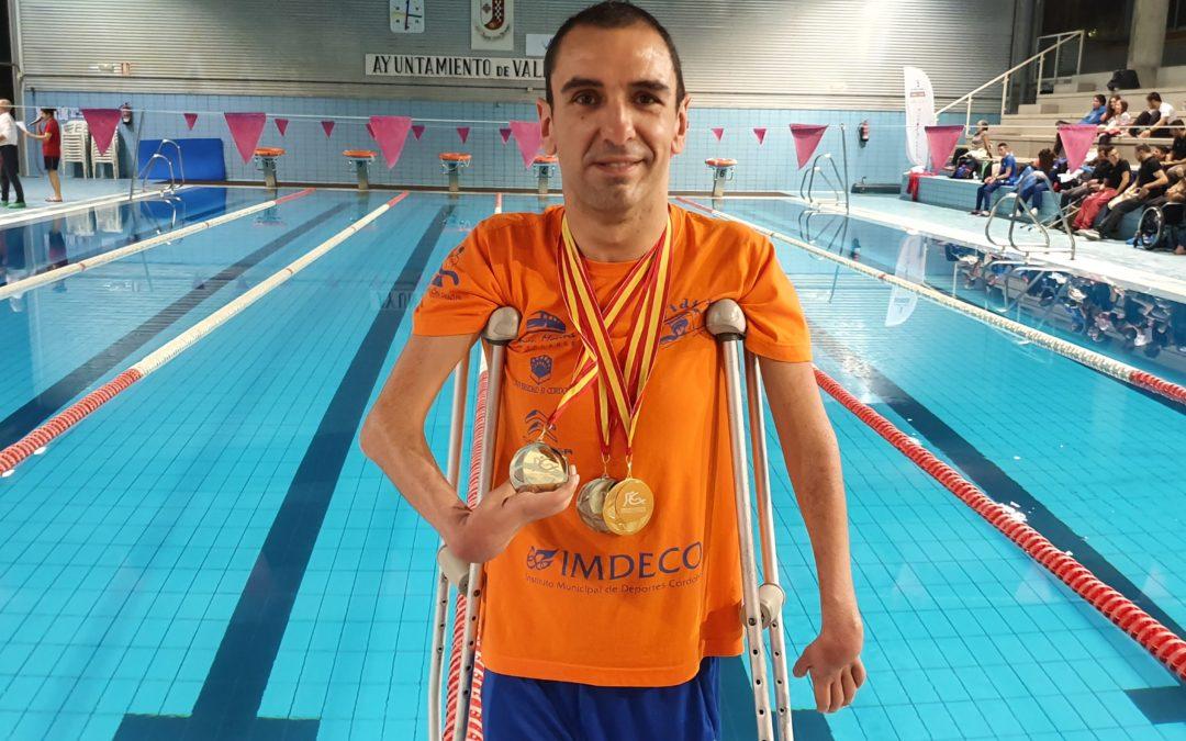 Un oro y dos platas para Martínez Tajuelo en el III Open Nacional de Valdepeñas