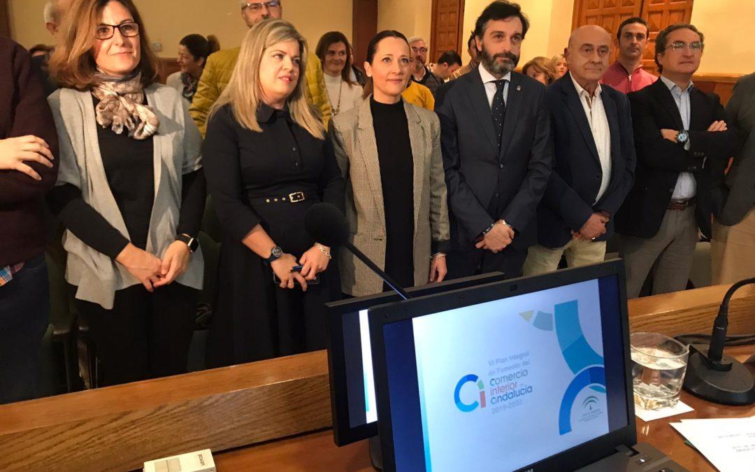 49 millones de euros para modernizar, innovar y adaptarse de forma digital con el VI Plan Integral de Fomento del Comercio Interior de Andalucía