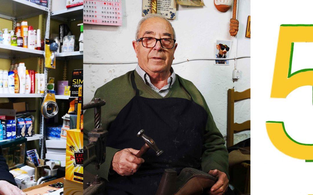 José Cortés, Antonio del Moral y el IES Ciudad de Arjona, premios Arjona Excelencia 2020