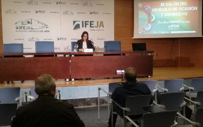 Venta de vehículos de ocasión y seminuevos en el próximo evento de IFEJA